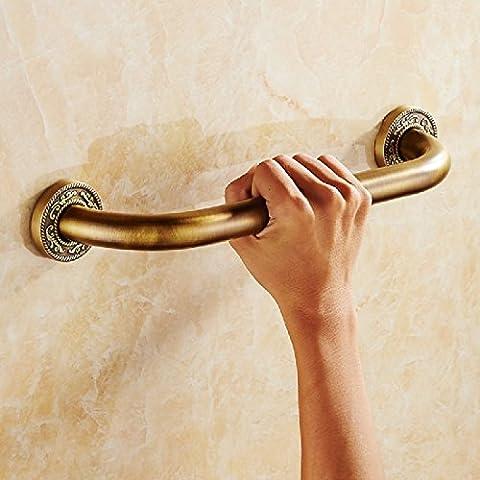KHSKXUnión baño Wc barandillas barandillas de seguridad para los ancianos el brazo libre de barreras para las personas con discapacidad pasamanos pasamanos-38 cm,C