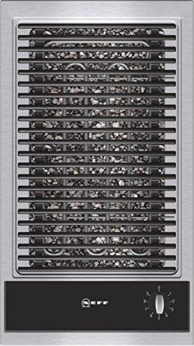 Neff NK 6430 N Kochfeld Elektro / edelstahl / 30,6 cm / Barbecue-Grill mit integrierten Temperaturregler / schwarz Bbq-grill Kochfeld