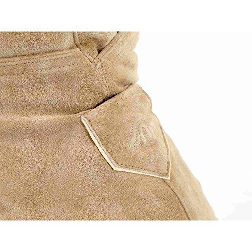 ALMBOCK kurze Lederhose Herren Tracht | Lederhose kurz Herren braun mit verstellbaren Hosenträgern | Lederhose kurz Tracht - Lederhose Herren kurz 46 - 6