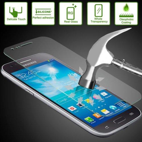 ILS® - Pellicola Protettiva ultraresistente in Vetro Temperato con spessore solo di 0,26 mm per Samsung Galaxy Ace 3 / S7272 / S7270