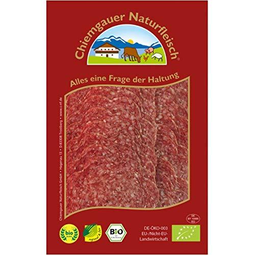 Chiemgauer Lammsalami, geschnitten inkl. Kühlverpackung (70 g) - Bio