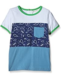 Pumpkin Patch Boy's Short Sleeve with Print Sports Shirt