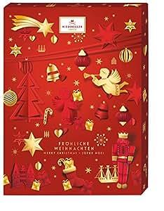 """Niederegger Adventskalender Motiv """"Glamour"""", 1er Pack (1 x 500 g)"""