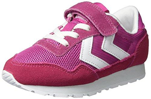Hummel Unisex-Kinder Reflex Sport Jr Low-Top Pink (Rose Violet)