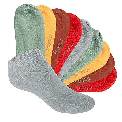10 Paar SNEAK IT! KIDS Kinder Sneaker Socken für Mädchen & Jungen Urban Camouflage-27-30 (Camouflage-mädchen-socken)