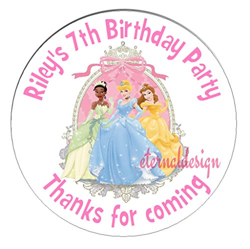 eternal-design-48-x-30mm-personalised-glossy-kids-birthday-party-thanks-for-coming-white-stickers-kb