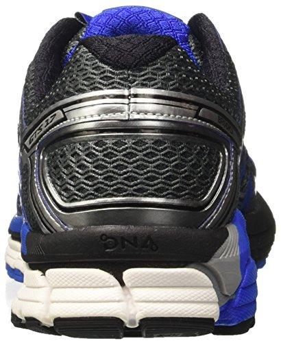 Brooks Adrenaline Gts 17, Chaussures de Course Homme Gris (Anthracite/electricbrooksblue/silver)
