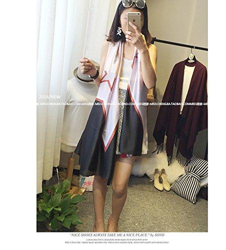 Upper de papillon Grande écharpe écharpes écharpes écharpes en été Soleil Femme Lace black
