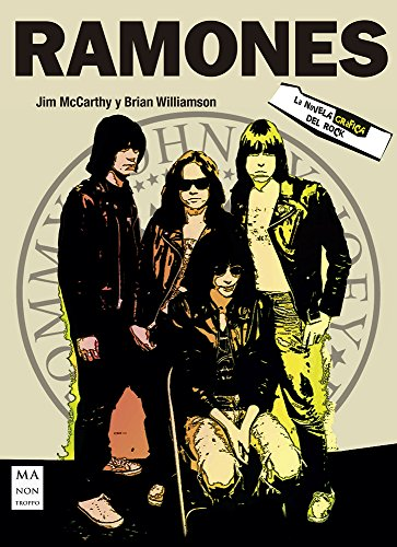 Ramones la novela gráfica del rock