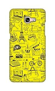 ZAPCASE Printed Back Cover for Samsung Galaxy A7 (2017)