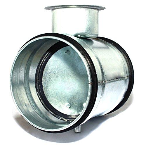 Rejilla de ventilaci/ón Wick Elf ALZ Tubo Canalizado rejilla aluminio antinsectos redondo rejilla