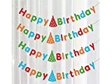 Sinnvoll Alles Gute Zum Geburtstag Englisch Banner Party Supplies Pullover Dekoration für Den Haushalt