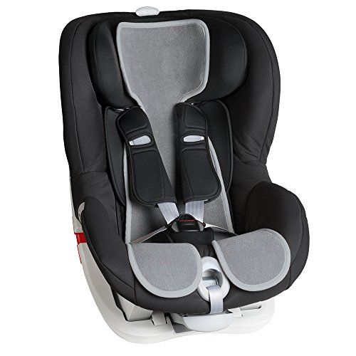 Air Cuddle Cool Seat copriseggiolino auto Gr.1 traspirante Grigio Chiaro Moon