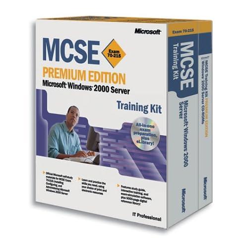 MCSE Exam 70-215 Microsoft Windows 2000 Server Coffret 2 vomumes et 1 CD-ROM