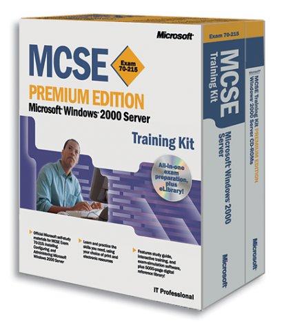 Windows 2000 Server (MCSE Training Kit) por Microsoft Press