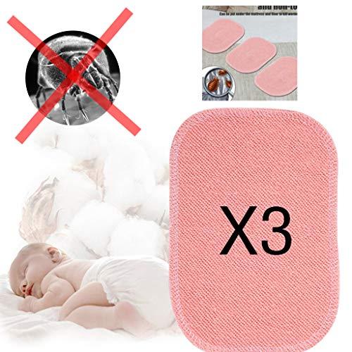 AMhomely® Dust Mite Killing Pad [3 PCS / 5PCS] - 2019 Sichere Baumwolle + Gewürz - für das Beste Milbenkissen für Zuhause - Sicher und umweltfreundlich für Schlafzimmer-Wohnzimmer-Sofahotel (Pink 3PC) (3pc Teppiche Wohnzimmer)