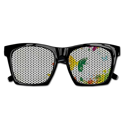 EELKKO Mesh Sunglasses Sports Polarized, Silhouettes of Butterflies Freedom Icons of The Nature Festival Artwork,Fun Props Party Favors Gift Unisex