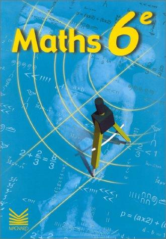 Maths, 6e