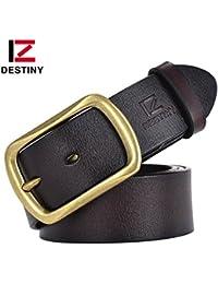 3f385cef8 Akruti DESTINY 100% genuine leather belts for men luxury famous brand  designer belt jeans high