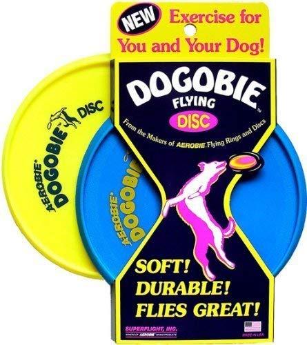 Aerobie Dogobie Disc (Farbe Mai Vary) von Aerobie [Toy] Hund