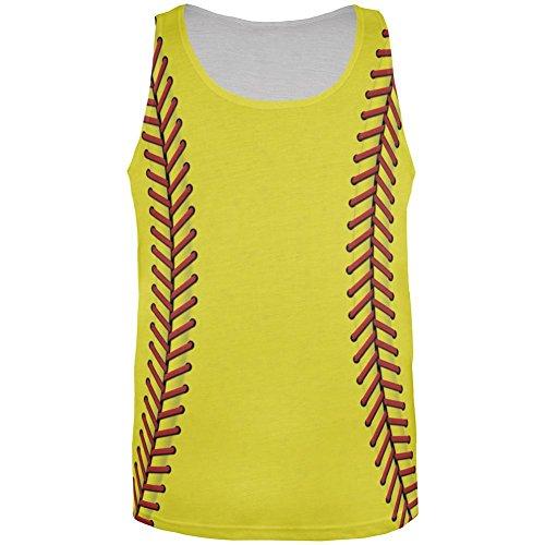 Softball aller Herren Tank Top Multicoloured