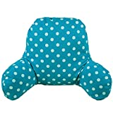 J & L super cómodo silla cama apoyo cojín cama lectura almohada lumbar Respaldo Cojín en forma de T de algodón