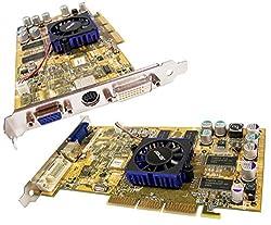 ASUS Sony 176173651 FX5600 DVI VGA AGP 128MB Card V9560 GeForce Rev:1.02 Video Card