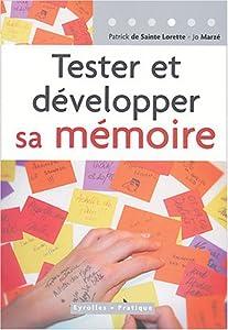 """Afficher """"Tester et développer sa mémoire"""""""