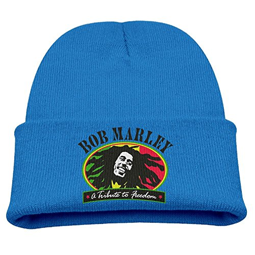 Beanie Hat Bob Marley A Tribute To Freedom Winter Warm ()