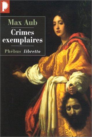 Crimes exemplaires par Max Aub
