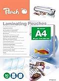 Peach PPR080-02 Laminierfolien A4, 80 mic, 25 Stück
