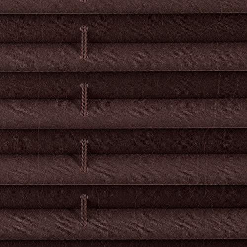 Wohn-Guide PKV.060.130.24 - Estor Plegable (Montaje sin Perforaciones, 60x130cm), Color marrón