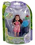 Disney Fairies Puppen 10cm mit Ring (rosa) - Rosetta