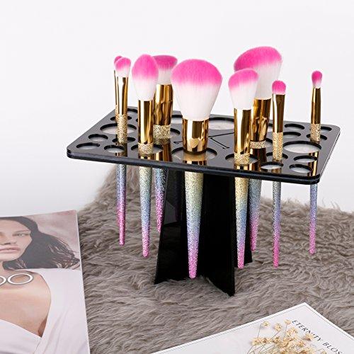 Docolor 26 Mix Tamaño Aire Secado Maquillaje Cepillos Soporte Torre árbol