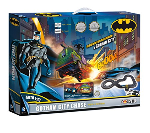 Polistil 960147 - Pista Batteria Gotham City Chase