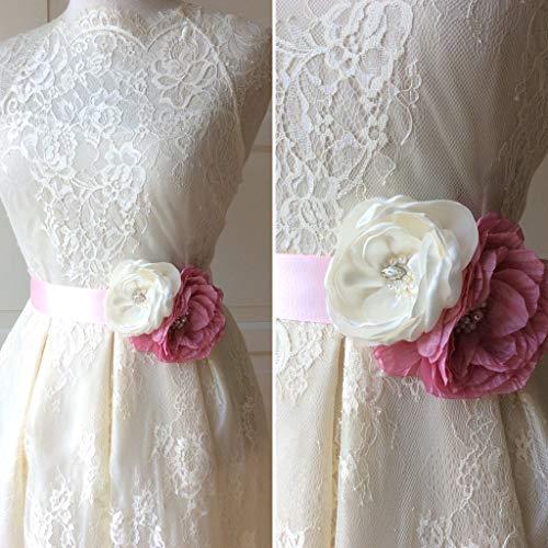 Brautgürtel Hochzeit Blumenband