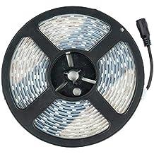 Tira LED 12V DC SMD5050 60LED/m 5m IP67 Blanco Neutro 4000K-4500K efectoLED