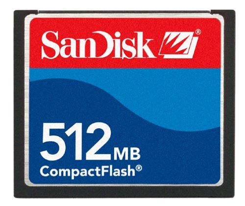 512mb Compactflash-flash Memory Card (SanDisk CF 512 MB CompactFlash Card (SDCFB-512-A10))