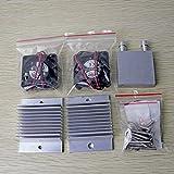 LoveOlvidoD DIY Thermoelectric Sets Peltier Kühlwasserkühlsysteme + Lüfter + 2 Stck. Tec1-12706 Kühler Thermoelektrischer Peltier-Kühler