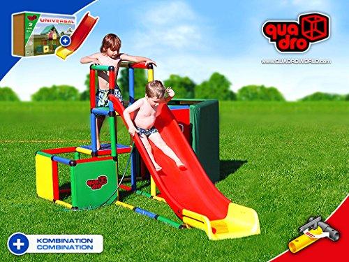 Klettergerüst Quadro Rutsche : Quadro modularrutsche inkl rahmen u kinderwelten eu