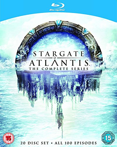 Stargate Atlantis-The Complete Series [Blu-ray] [Import anglais]