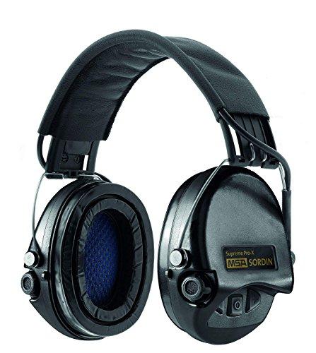 MSA Sordin Erwachsene Supreme Pro X Schalldichte Kopfhörer, schwarz, One Size