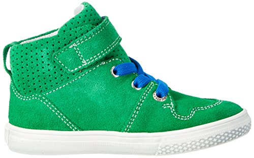 Richter Kinderschuhe Jungen Mose High-Top Grün (grass/lagoon)