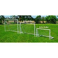 Prezzo SPECALE! Mini Porta da Calcio per Bambini Fun 1,2 x 0,8 m - Resistente, SICURA e con Garanzia
