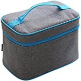 Rayhee Insulated Lunch Bag Cooler Lunch Box Reusable Picnic Lunch Bags Boxes With Zipper Closure For Work Men Women Students (Rectangular)