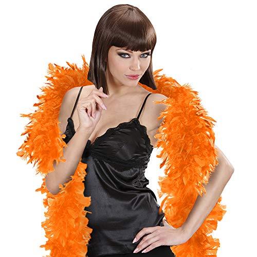 Widmann - Federboa / Federschal  Classic - Feder Boa für 20er Jahre Party, Karneval, Fasching, Charleston , Varieté - ca. 180 cm lang  - ca . 50 ()