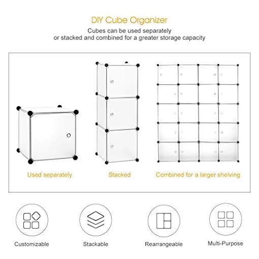 Para Ropa 20 Cubos Con Puertas Color Blanco Estantería Por