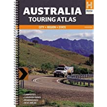 Australia Touring Atlas: City - Region - State. Campsites, Caravan Parks, Roadhouses, Rest Areas