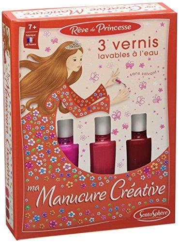 Scheda dettagliata Sentosphere - Manicure Creativa, 3 Smalti, Rosso Corallo