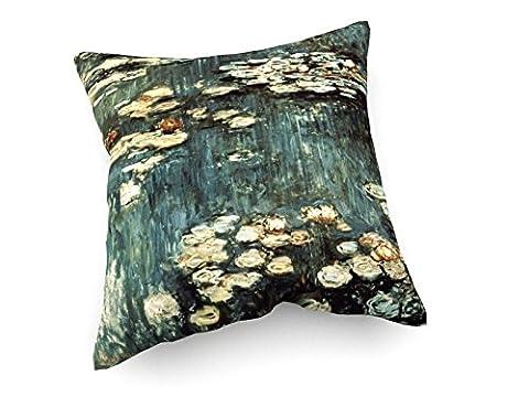 Claude Monet - Waterlilies - Peinture - 40x40 cm - Canapé coussins - weewado - art, image, peinture, photo - Vieux